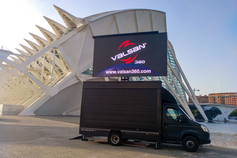 Valsan camion led Valencia